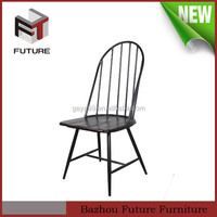 MDF metal frame cheap wholesale wood old style chair