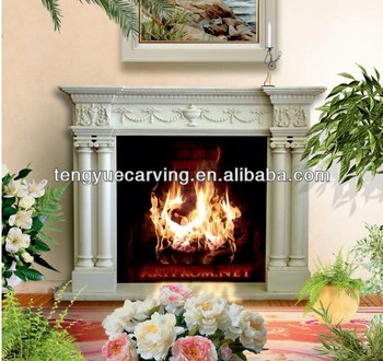 Marble fireplace,llectric fireplace uxury edecorate