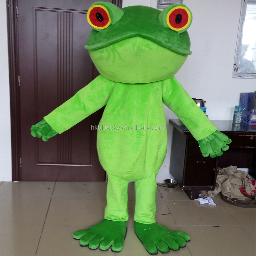 2015 new frog mascot costume Frog Prince mascot costume for sale