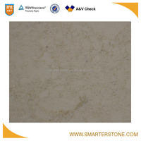 Yellow veins artificial quartz stone slabs