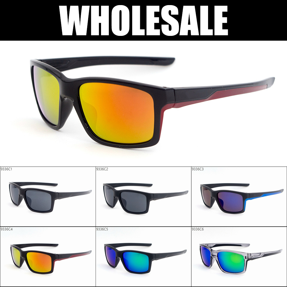 WHOLESALE - Fashion Brand Sports Sunglasses Mens Cycling Riding Eyewear outdoor goggle 9336