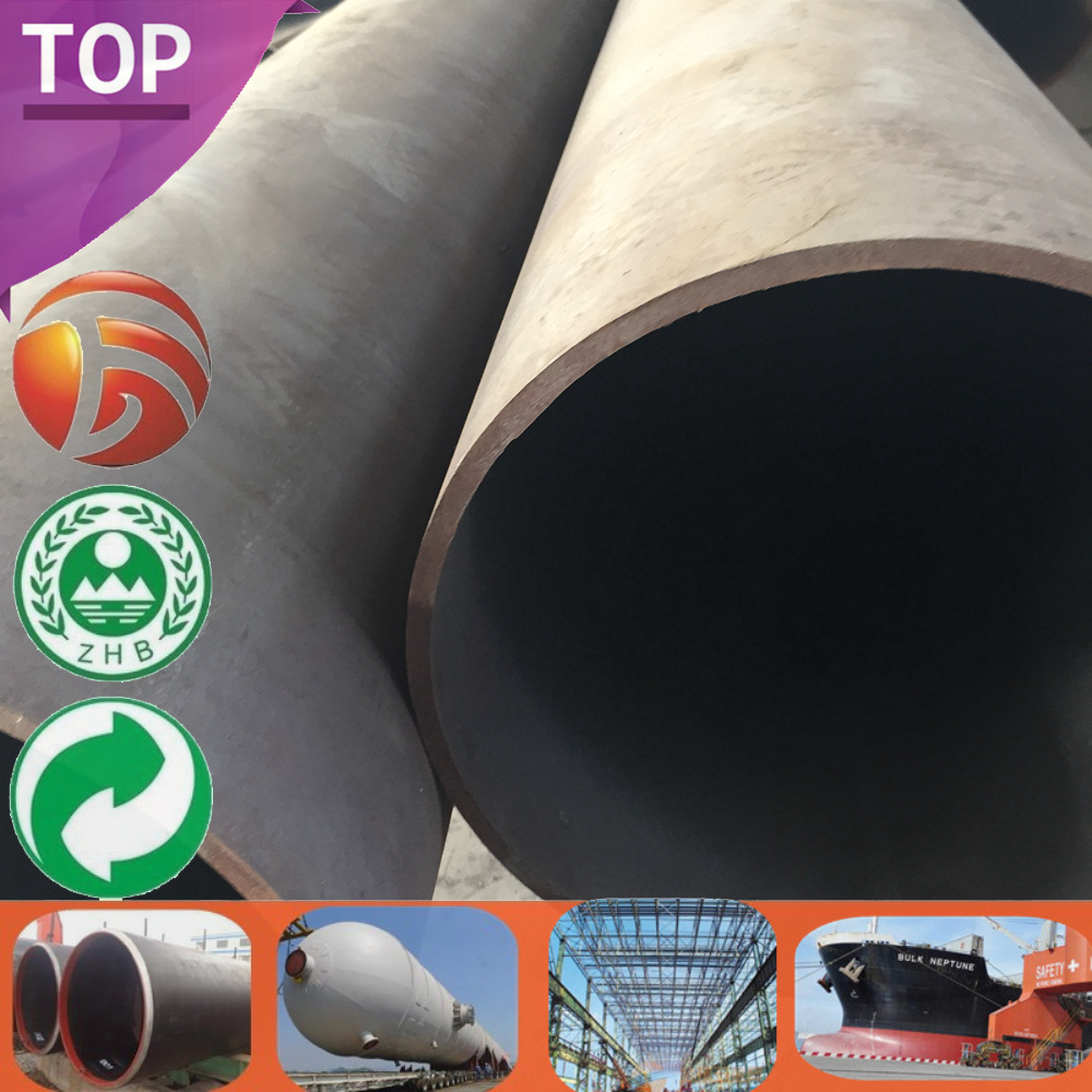 GB Q345B Quality Assured steel pipe diameter 250mm with hollow section Factory Supply din pipe size table standards