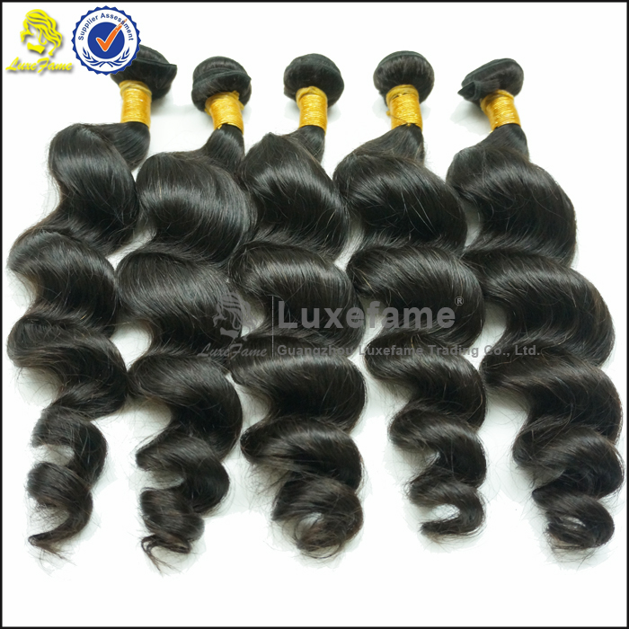 Luxefame full cuticles no tangle nop shedding 100 brazilian curly hair 3 bundles