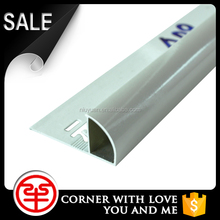 Good Lead-Time Quadrant Aluminum Tile Outside Corner Trim For Tile Edge