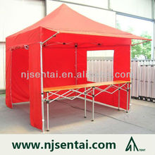 Factory 40mm Intensified Advertising Portable Folding Outdoor Exhibition Tent