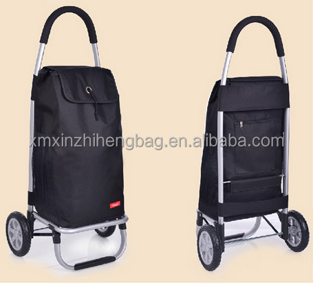 2016 Portable trolley shopping bag with wheels