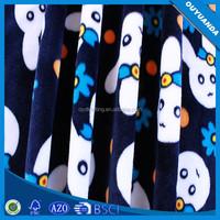 Printed Textile Fabric of Soft Comfort Velboa Fabric Short Pile Velvet for Overcoat/Garment