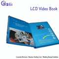 LCD screen business video greeting card Lcd Video Invitation Card