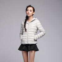 new designed warm cheap light soft sexy women down coat