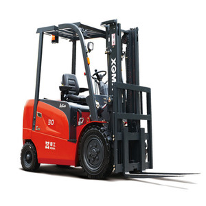 80V battery powered forklift 3 Ton Electric Forklift CPCD30 with AC motor Curtis /Zapi controller
