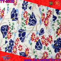 floral design 100% quilting 40s 120*72 cotton wholesale poplin fabric for garments