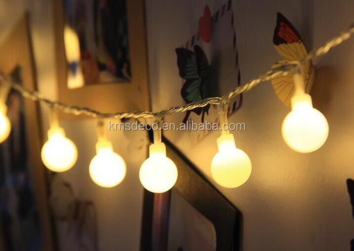 Perfect price battery operated mini ball led fairy light for indoor decoration