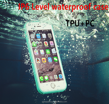 high quality luxury design IP6 waterproof level defender armor tpu pc cell phone case for iphone 7 7 plus 6 6 plus cases cover