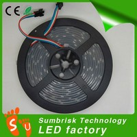 White board 32 pixel DC 5v SMD 5050 led strip ws2801