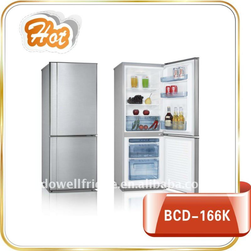 BCD-166K combi fridge freezer
