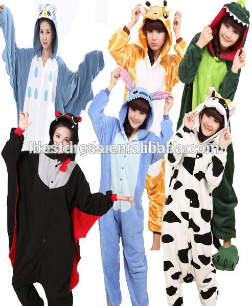 Adult Onesie Fancy Dress Costume Outfit New Animal Pyjamas Jumpsuit cheap adult onesie Quality Assured