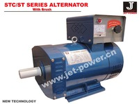 15kva dynamo alternator 220v 50hz brush generator head
