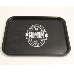 Fast food restautant using custom PP serving tray