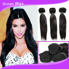 Double drawn&single drawn weaving must be remy human hair