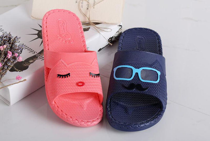 Uniseason Bedroom Anti Slip Bath Slippers For Hotel