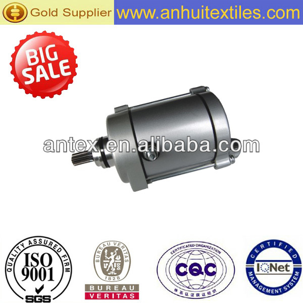 High quality hot sale starter motor for CG200 /motorcycle spare parts/motorcycle starting motor