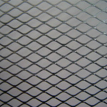 Low carbon steel diamond expanded metal mesh