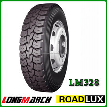 DOT approval full range DOUBLEROAD LONGMARCH Chinese truck tires / tyre factotry price, China truck tire manufacturer price
