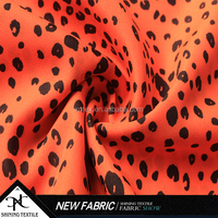 print polyester CDC fabric for dress/Faille crepe/poly CDC faille crepe fabric