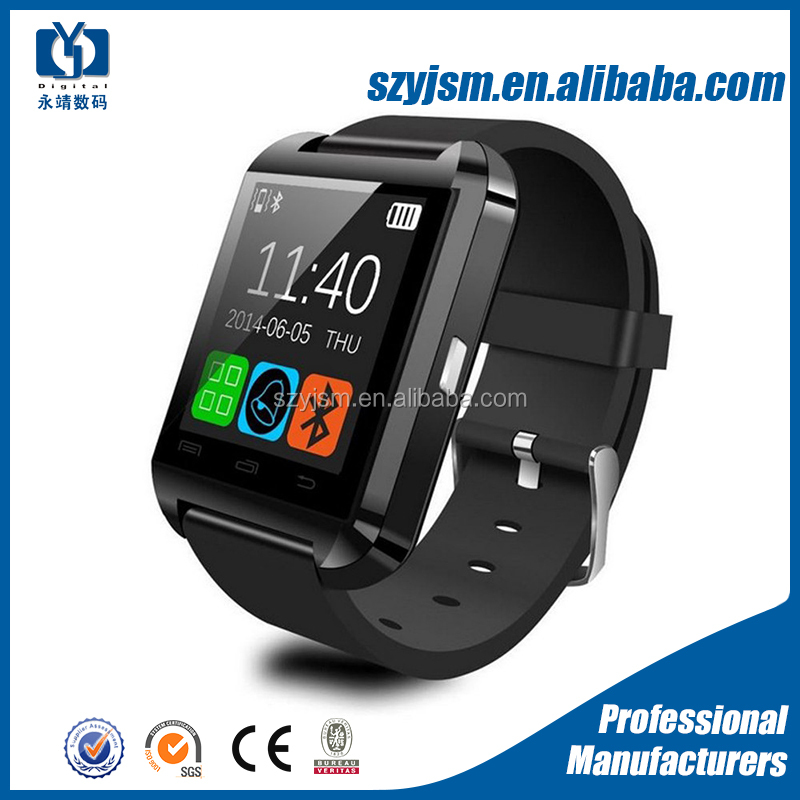 2015 new sport android bluetooth U8 smart watch for phone