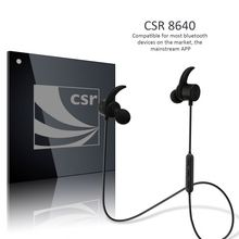 Outdoor sport bluetooth headset sweatproof bluetooth receiver headphones with multipoint function-R1615