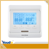 [TEKAIBIN] E51.50 electric lcd oem hvac safety digital room adjustable air conditioner fcu fan coil thermostat