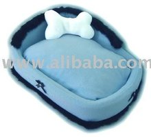 Pampered Pet ~ Blue Deluxe Dog Bed