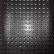 Against skid Coil SBR rubber sheet/Button rubber mat/Round dot rubber roll