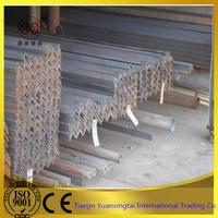 factory price galvanized steel angle bar/China equal bars angle steel/slotted angle bar