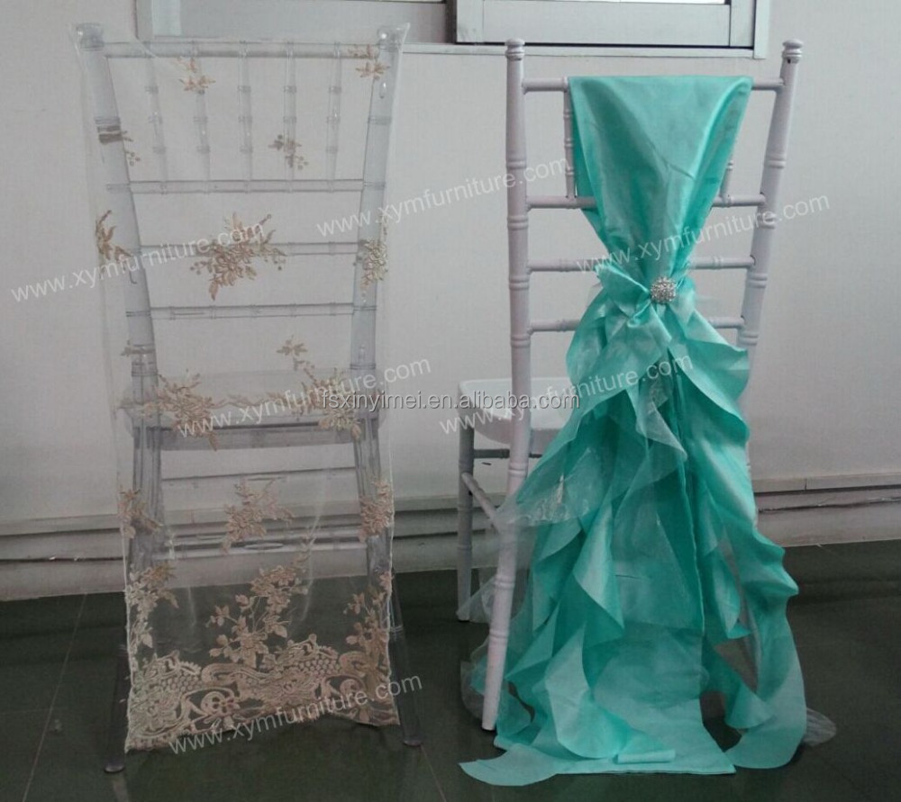 chair cover for wedding wedding ruffled chiavari chair cover