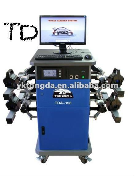 WHEEL ALIGNMENT TDA-158 Advanced 8-beam CCD image measurement system All digital sensor