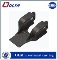 Customized precision casting IC1045 carbon steel railway locomotive parts