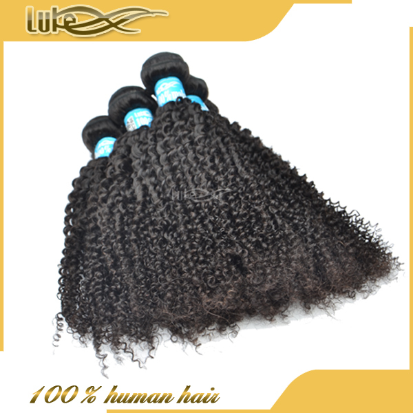 Luke hot selling virgin human sunny kinky curly hair cheap malaysian hair bundles
