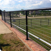 high quality galvanized and black welded wire mesh panels