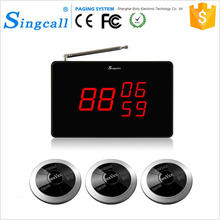 Great Quality Cheap Electronic Table Number Display Call System