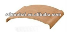 curved plywood part