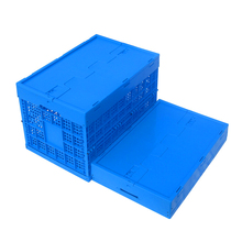 Stackable mesh Plastic container Folding agricultural packaging Crate