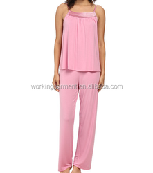 OEM Women's knit pajama set