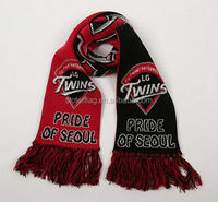 cheap custom style knitted scarf made in china
