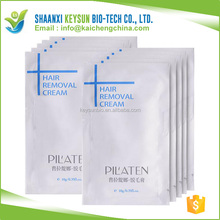2016 New Products Pilaten Herbal Virgin All Natural Clear Hair Removal Cream Permanent For Man Woman Body Hand And 10g