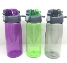 Disposable Feature plastic cup with flat lid