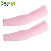 High-elastic breathable sports arm sleeve fishing golf cycling climbing sun uv protection cool arm sleeve