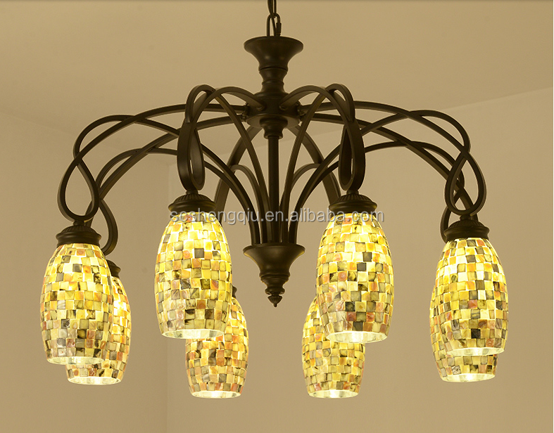 American style living room dining room European style creative personality led pendant light