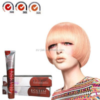 2016 Professional hair dye brown hair color cream