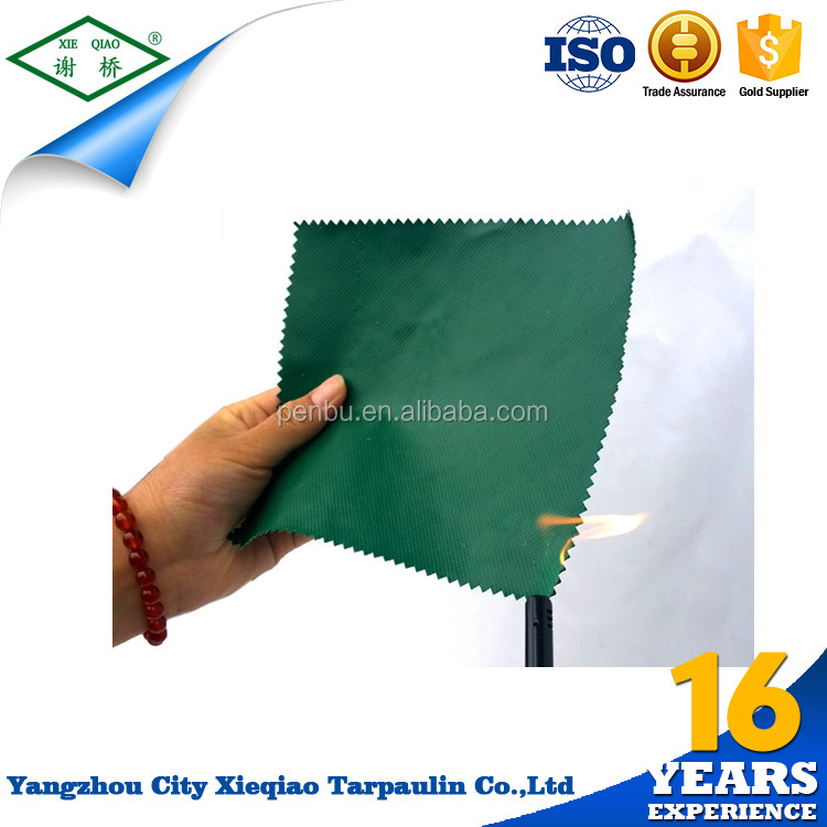 High Quality Awning Fabric / Awning PVC Coated Fabric sample tarpaulin